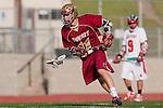Palos Verdes, CA 03/17/10 - Joseph Silva (Downey # 11) in action during the Downey-Palos Verdes CIF sanctioned game at Palos Verdes High School, PV defeated Downey 17-6.