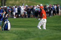 Jason Day (AUS) on the 16th fairway during the 2nd round at the PGA Championship 2019, Beth Page Black, New York, USA. 17/05/2019.<br /> Picture Fran Caffrey / Golffile.ie<br /> <br /> All photo usage must carry mandatory copyright credit (&copy; Golffile | Fran Caffrey)