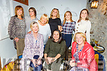 Enjoying a family gathering in Bella Bia on Saturday night<br /> Front l to r: Kay Lynch (Tralee), Emma Marie Claire Hartshorm (South East London) and Marion Fitzgerald (Tralee).<br /> Back l to r: Mags Lynch (Tralee), Shona Kiely, Marie Baker, Laura Bees, Lorraine Lynch and Darina O'Connor.