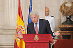 Former Spanish Prime Minister Felipe Gonzalez attends the 30th Anniversary of Spain being part of European Communities. June 24, 2015.(ALTERPHOTOS/Pool)