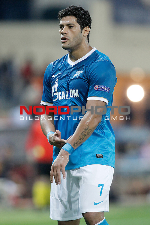 Football Club Zenit's Hulk during Champions League 2013/2014 match.September 18,2013. Foto © nph / Acero)