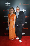 """Actor Vincent Pastore and guest arrives on the red-carpet for the Tyler Perry""""s ACRIMONY movie premiere at the School of Visual Arts Theatre in New York City, on March 27, 2018."""
