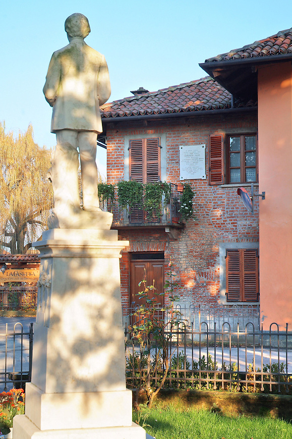 La casa natale di San Domenico Savio a Riva di Chieri in frazione S.Giovanni