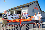 Banna Sea and Rescue are organising a demonstration on Sunday August 4th and members of the public are invited to attend. Pictured were: James O'Loughlin, Jack Bodenham, Clóda O'Loughlin, Neil Bodenham, Donal Dowling, Mike McCarthy, Pat Lawlor, Emma Bodenham, Sarah Bodenham, Mike Shanahan and Steve Baker.