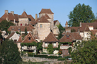 Europe/France/Midi-Pyrénées/46/Lot/Haut-Quercy/Loubressac : Le village