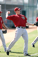 Marc Krauss, Arizona Diamondbacks 2010 minor league spring training..Photo by:  Bill Mitchell/Four Seam Images.