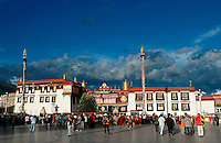 Built in the 7th century, Lhasa's Jokhang Temple is Tibet's most sacred place of worship. .28 Jul 2006