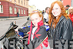 David Flynn Memorial Run : Attending the David Flynn Memorial Poker run on Saturday last were Katelyn Flynn & Jessica Heffernan, Kilmorna.