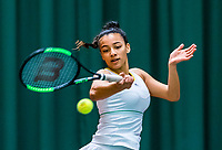 Wateringen, The Netherlands, March 16, 2018,  De Rhijenhof , NOJK 14/18 years, Nat. Junior Tennis Champ. Warda Ait El Bachir (NED)<br /> Photo: www.tennisimages.com/Henk Koster