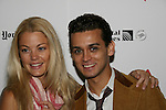 OLTL Bree Williamson and Broadway's Michael Longoria at 22nd Annual Broadway Flea Market & Grand Auction to benefit Broadway Cares/Equity Fights Aids on Sunday, September 21, 2008 in Shubert Alley, New York City, New York. (Photo by Sue Coflin/Max Photos)
