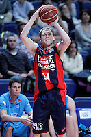 Caja Laboral Baskonia's Brad Oleson during Liga Endesa ACB match.January 6,2012. (ALTERPHOTOS/Acero) /NortePhoto