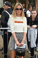 Martha Ward<br /> arrives for the TopShop UNIQUE catwalk show as part of London Fashion Week SS17, Old Spitalfields Market, London<br /> <br /> <br /> &copy;Ash Knotek  D3155  17/09/2016