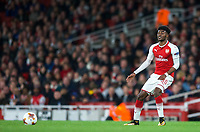 Ainsley Maitland-Niles of Arsenal during the UEFA Europa League match between Arsenal and FC Koln at the Emirates Stadium, London, England on 14 September 2017. Photo by Andrew Aleks.