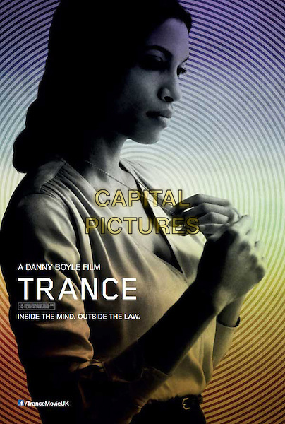 BRITISH POSTER ART.in Trance (2013) .*Filmstill - Editorial Use Only*.CAP/FB.Supplied by Capital Pictures.