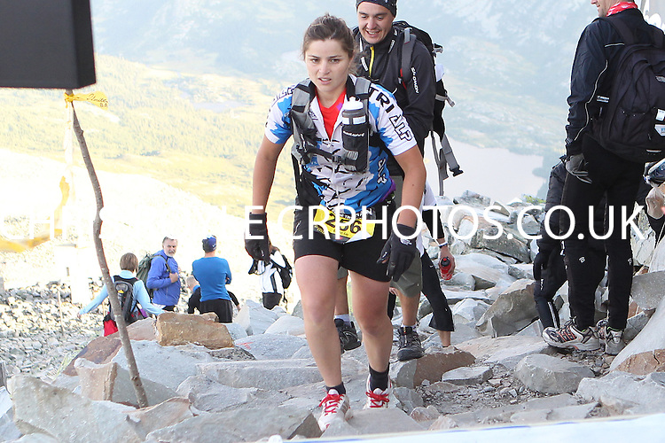 Race number 256 - Lucie Croissant - Norseman Xtreme Tri 2012 - Norway - photo by chris royle/ boxingheaven@gmail.com