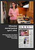 A West Bend mother who admits to being a lousy cook won a contest sponsored by the Milwaukee Journal Sentinel.