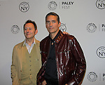- The Paley Center for Media presents Paleyfest Made in NY - Person of Interest - starring Jim Caviezel, Michael Emerson, Kevin Chapman, Sarah Shahi, Amy Acker and creator/executive producer Jonathan Nolan - on October 3, 2013 at the Paley Center, New York City, New York. (Photo by Sue Coflin/Max Photos)