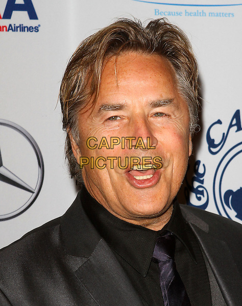 DON JOHNSON .The 32nd Annual Carousel Of Hope Ball held at The Beverly Hilton Hotel, Beverly Hills, CA, USA..October 23rd, 2010.headshot portrait black tie grey gray mouth open.CAP/ADM/KB.©Kevan Brooks/AdMedia/Capital Pictures.