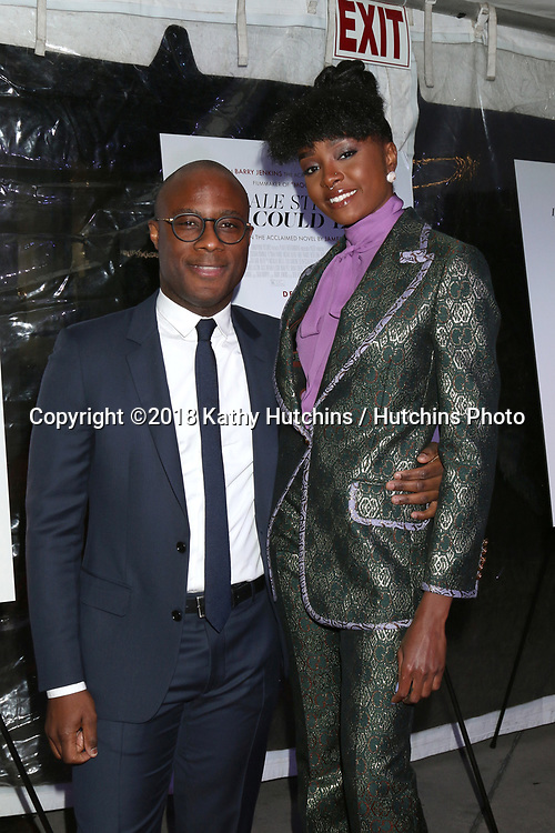 """LOS ANGELES - DEC 4:  Barry Jenkins, Kiki Layne at the """"If Beale Street Could Talk"""" Screening at the ArcLight Hollywood on December 4, 2018 in Los Angeles, CA"""