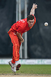 Kyle Christie of HKI United bowls during the DTC Hong Kong T20 Blitz match between HKI United vs City Kaitak on 12 March 2017, in Tin Kwong Road Recreation Ground, Hong Kong, China. Photo by Chris Wong / Power Sport Images