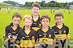 Dr Crokes players Darragh Looney, Eoghan O Dúbhain, Shane McAllister, Karl McCarthy and Scott O'Meara who played in a blitz in Lewis Road on Saturday
