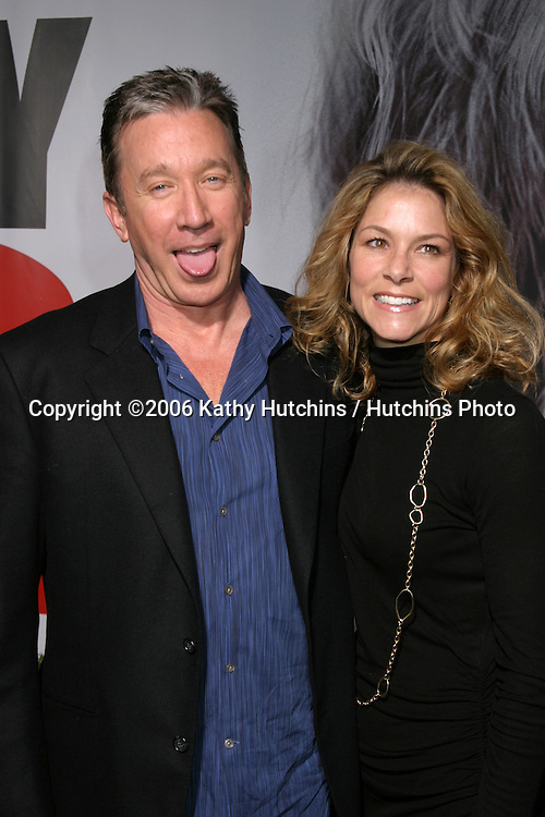 Tim Allen & date.The Shaggy Dog Premiere.El Capitan Theater.Los Angeles, CA.March 7, 2006.©2006 Kathy Hutchins / Hutchins Photo....
