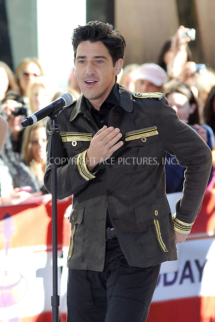WWW.ACEPIXS.COM . . . . . .June 3, 2011...New York City....Jonathan Knight performs on NBC's 'Today' at Rockefeller Center on June 3, 2011 in New York City.....Please byline: KRISTIN CALLAHAN - ACEPIXS.COM.. . . . . . ..Ace Pictures, Inc: ..tel: (212) 243 8787 or (646) 769 0430..e-mail: info@acepixs.com..web: http://www.acepixs.com .
