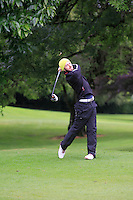 Liam Grehan (Mullingar) on the 3rd tee during round 1 of The Mullingar Scratch Cup in Mullingar Golf Club on Sunday 3rd August 2014.<br /> Picture:  Thos Caffrey / www.golffile.ie
