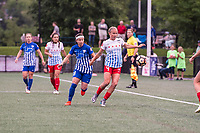 Boston, MA - Friday July 07, 2017: Tiffany Weimer and Alyssa Mautz during a regular season National Women's Soccer League (NWSL) match between the Boston Breakers and the Chicago Red Stars at Jordan Field.