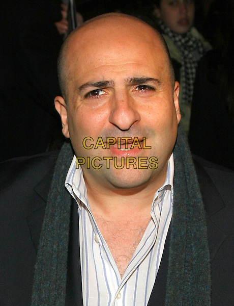 OMID DJALILI.NY premiere of Casanova., New York, NY..December 12th, 2005.Photo: Jackson Lee/Admedia/Capital Pictures.Ref: JL/ADM.headshot portrait mouth open.www.capitalpictures.com.sales@capitalpictures.com.© Capital Pictures.