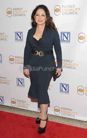 NEW YORK, NY - MAY 09: Gloria Estefan attends the 11th Annual Family Equality Council Night at the Pier at Pier 60 on May 9, 2016 in New York City.  Photo Credit: John Palmer/Media Punch