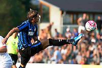Samuele Longo<br /> italian Prseason soccer match between FC inter e Carpi , at Stadium of Rischione di Brunico Italy July 15, 2015