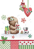Sharon, CHRISTMAS ANIMALS, WEIHNACHTEN TIERE, NAVIDAD ANIMALES, GBSS, paintings+++++,GBSSC50XFC2,#XA#