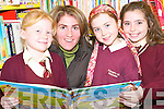 At the shared reading afternoon at Ballybunion library on Thursday, December 20th.   Copyright Kerry's Eye 2008