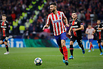 Felipe Augusto de Almeida of Atletico de Madrid during the UEFA Europa League match between Atletico de Madrid and Bayer 04 Leverkusen at Wanda Metropolitano Stadium in Madrid, Spain. October 22, 2019. (ALTERPHOTOS/A. Perez Meca)
