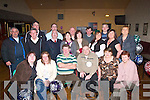 BIRTHDAY BASH: Birthday celebrations were in full swing for Maurice McNamara, Connolly Park, (seated 3rd right), as his family and friends celebrated his 40th Birthday at Austin Stack GAA Club, Connolly Park, Tralee, on Tuesday night..   Copyright Kerry's Eye 2008