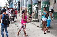 A woman who liked the photographer, La Habana Vieja