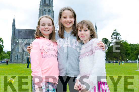 Enjoying the St. Brendan's College, Killarney Fayre Day on Sunday were Ava dhubhain, Grainne Byrne, Sinead Byrne
