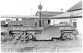 Side view of D&amp;RGW flanger #OD at Montrose.<br /> D&amp;RGW  Montrose, CO