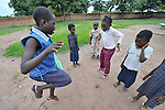 Play time for girls in the Mary Morris Orphanage, run by the United Methodist Church in Kamina, Democratic Republic of the Congo.
