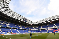 Harrison, NJ - Saturday, March 04, 2017: Red Bull Arena prior to a SheBelieves Cup match between the women's national teams of France (FRA) and Germany (GER) at Red Bull Arena.