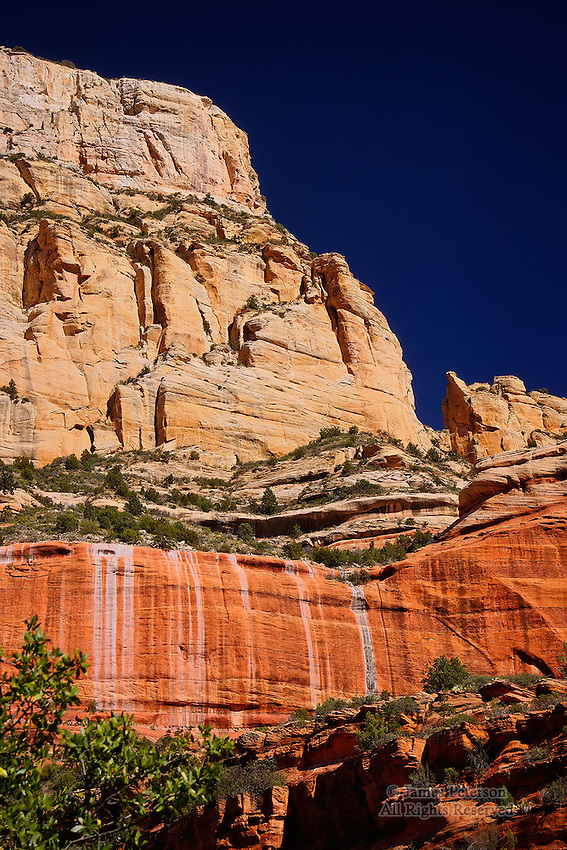 North Wall, Long Canyon, near Sedona, Arizona. Available in sizes up to 30 x 45 inches.