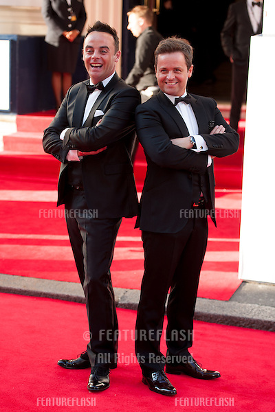 Ant and Dec arriving for the 2014 Bafta TV Awards, Theatre Royal  Drury Lane, London. 18/05/2014 Picture by: Dave Norton / Featureflash