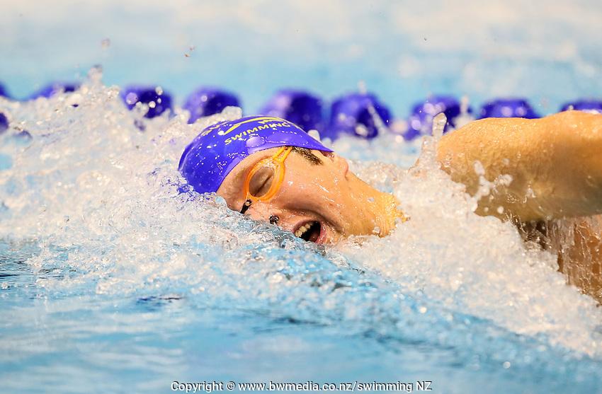 Atakura Julian. Swimming New Zealand Aon National Age Group Championships, Wellington Regional Aquatic Centre, Wellington, New Zealand, Tuesday 15 2019. Photo: Simon Watts/www.bwmedia.co.nz