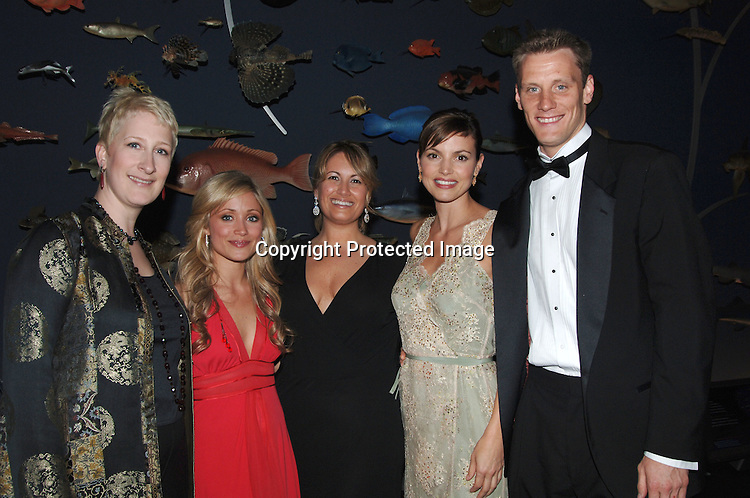 Producer Jan Conklin, Marcy Rylan of Guiding Light and producer Maria Macina, Michelle Ray Smith and boyfriend ..Brian McKeever..at The Lifesavers Dinner 2006 to benefit The American Foundation for Suicide Prevention on May 3, 2006..at The American Museum of Natural History. ..Robin Platzer, Twin Images