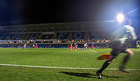General view of play during the The Checkatrade Trophy Southern Group D match between Wycombe Wanderers and Coventry City at Adams Park, High Wycombe, England on 9 November 2016. Photo by Andy Rowland.