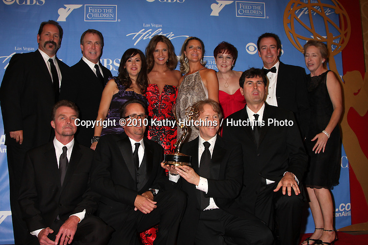 General Hospital Directing Team.in the Press Room at the 2010 Daytime Emmy Awards .Las Vegas Hilton Hotel & Casino.Las Vegas, NV.June 27, 2010.©2010 Kathy Hutchins / Hutchins Photo....