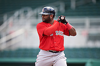 Boston Red Sox Pablo Sandoval (48) during an Instructional League game against the Minnesota Twins on September 23, 2016 at JetBlue Park at Fenway South in Fort Myers, Florida.  (Mike Janes/Four Seam Images)