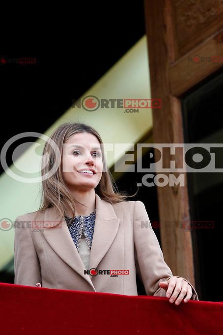 Princess Letizia of Spain visits Caspe village on November 7, 2012 in Alcaniz, Teruel, Spain.(ALTERPHOTOS/Harry S. Stamper) .<br /> &copy;NortePhoto