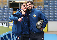 Blackburn Rovers' Danny Graham and Blackburn Rovers' Elliott Bennett arrive at the ground<br /> <br /> Photographer Rachel Holborn/CameraSport<br /> <br /> The EFL Sky Bet League One - Blackburn Rovers v Blackpool - Saturday 10th March 2018 - Ewood Park - Blackburn<br /> <br /> World Copyright &copy; 2018 CameraSport. All rights reserved. 43 Linden Ave. Countesthorpe. Leicester. England. LE8 5PG - Tel: +44 (0) 116 277 4147 - admin@camerasport.com - www.camerasport.com